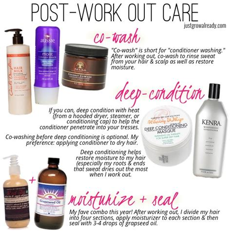 Reader Mail The Hair Powder by Reader Mail Post Work Out Care Options To Combat Hair