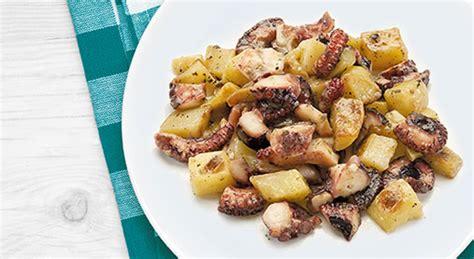 cucinare polpo con patate polpo con patate sapore di mare