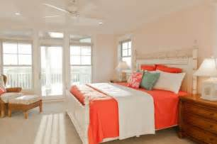 coral bedroom color schemes peach and coral accents ideas and inspiration