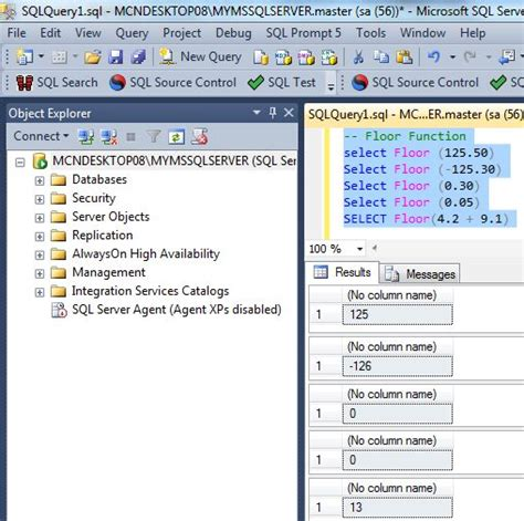 Sql Server Floor by Mathematical Numeric Functions In Sql Server 2012