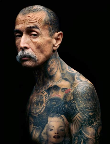tattooed people with tattoos aging ink everyjoe