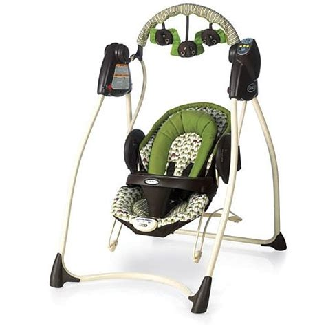 swings that plug into the wall bouncers babies r us and swings on pinterest