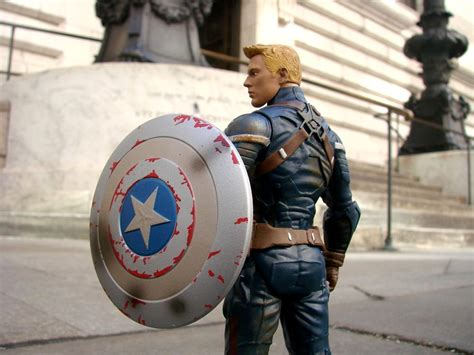 Marvel Select Captain America Disney captain america the winter soldier exclusive marvel select unmasked captain america figure