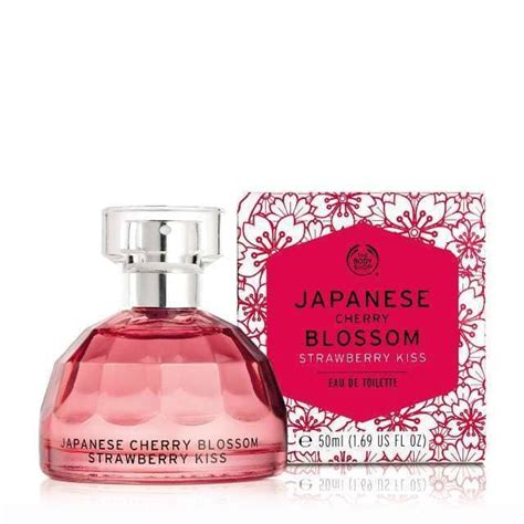 The Shop Japanesse Cherry Blossom Edt Parfum 50ml japanese cherry blossom strawberry the shop perfume a new fragrance for 2017