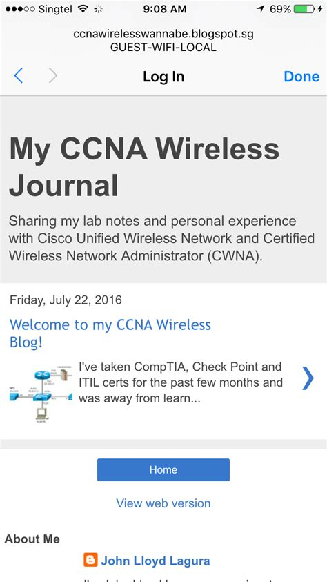 My Ccna Wireless Journal Configuring Guest Wireless Network Via Web Auth On A Cisco Wlc Guest Wifi Disclaimer Template