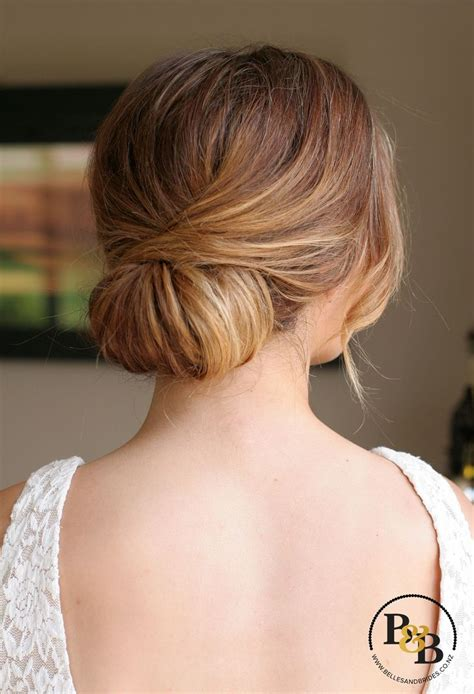 wedding hair bun updos top 25 best low bun wedding hair ideas on