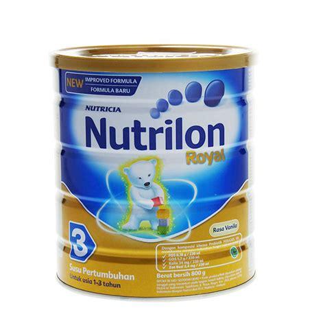Nutrilon Royal 3 Di Hypermart jual nutrilon royal 3 madu 800 g prosehat