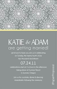 modern bloom wedding invitation just needs a mobile version and its complete mobile