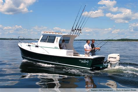 Southwest Style Homes by Just Launched Eastern 248 Cc Explorer Tournament Maine Boats Homes Amp Harbors