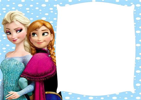 imagenes png frozen marcos de fotos de frozen y sus amigos marcos gratis