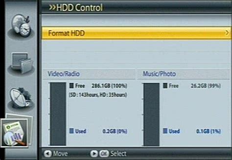 format hard drive for humax hidden menu on freesat