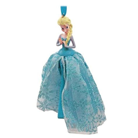 your wdw store disney christmas ornament elsa tulle