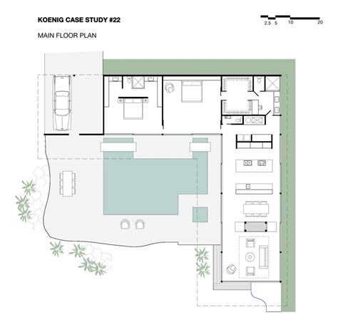 Stahl House Floor Plan | unconventional space rick cindy black architects