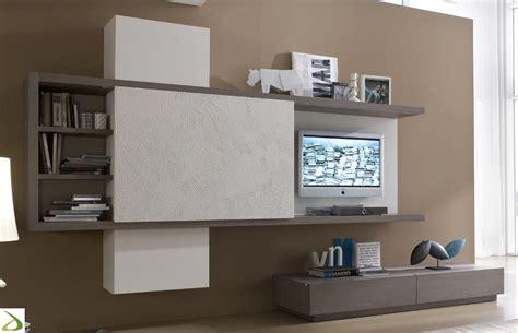 mobile soggiorno componibile parete attrezzata componibile di design mars arredo
