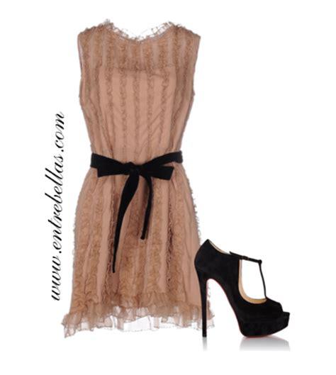 zapato color nude combinar vestido color nude con zapatos de color entre