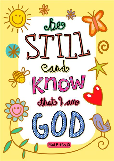 god s doodle the and times bible verse stock illustration illustration of