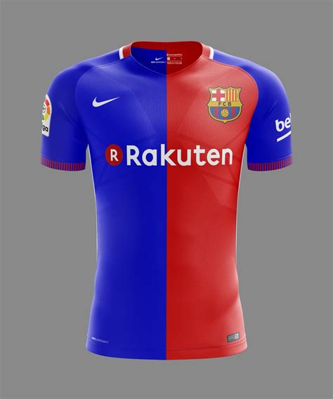 Tshirt Barcelona New Barca 19 concept kits on quot fc barcelona home away and third kit concepts 2017 18 fcb barca