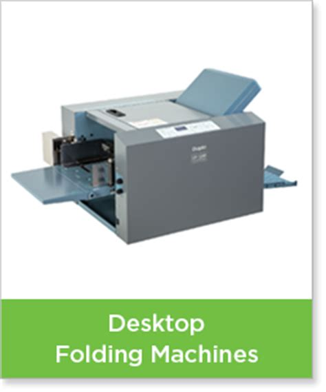 Desktop Paper Folding Machine - paper folding machines neopost