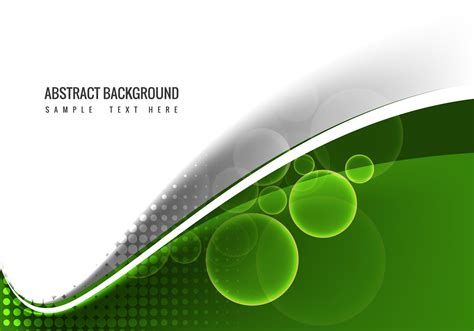 vector green wave background   vectors