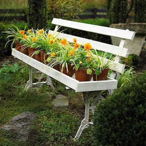 Garden Bench Planter by Garden Bench Planters