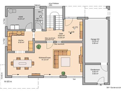 grundriss haus grundriss einfamilienhaus mit integrierter garage im
