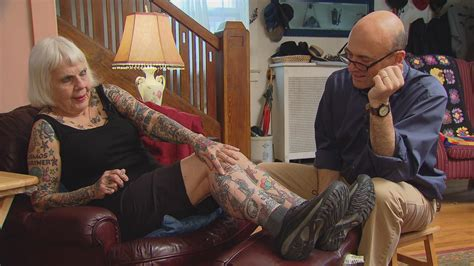 tattooed granny ink local senior brings color to chicago
