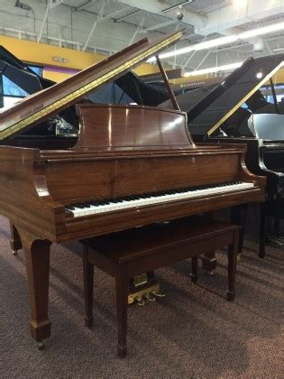Grand Piano L by Used Steinway L Santos Rosewood Grand Piano