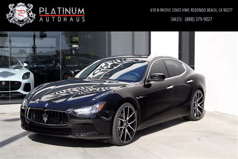 2014 Ghibli Maserati by 2014 Maserati Ghibli Stock 5996 For Sale Near Redondo