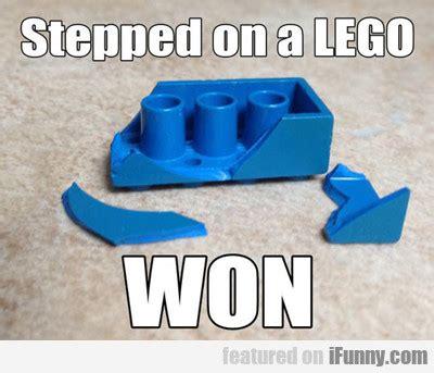 Lego Meme - stepped on a lego won ifunny com