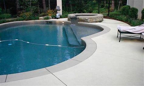 colored concrete coping  pool google search
