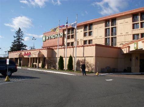 Wyndham Garden Newark Airport Newark Nj by The Front Of The Hotel Showing The Restaurant Picture Of