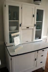 Hoosier Kitchen Cabinets The Hoosier Cabinet And A Lesson In Flea Market Ettiquette