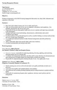 nurses resume sles resume sles for nursing 28 images neonatal nursing