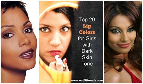 lipstick for dark skin best colors shades orange coral blue 20 best lipstick shades for girls with dark skin tone