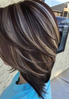 highlights to hide white hair brown hairstyles and haircuts ideas for 2018