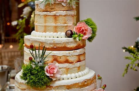 Wedding Cake No Icing by No Icing Wedding Cake Wedding Ideas