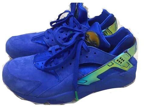 Sepatu Nike Huarace 02 blue suede nike huarache sole collector