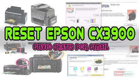 reset epson t1110 youtube reset epson cx3700 cx3800 cx3805 cx3810 cx3900 cx4600