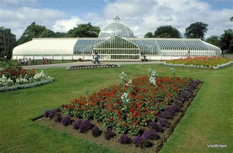 botanic gardens in glasgow scotland kibble palace