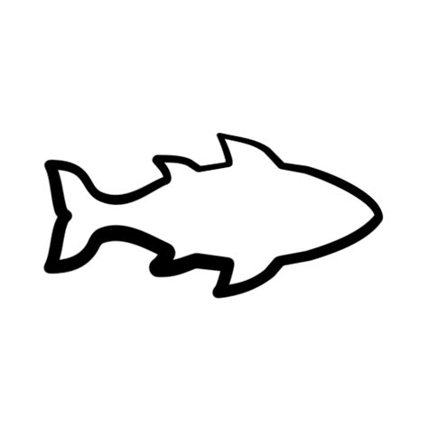 Fish Outline Clip by Clipart Fish Outline Clipart Panda Free Clipart Images