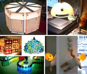 Things Made Out Of Recycled Materials by Creative Ideas For Making Things From Waste Material