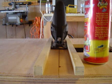 diy jigsaw projects jigsaw guide rail by elduque lumberjocks