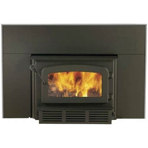 woodburning fireplace insert drolet escape 1400 wood burning fireplace insert w blower