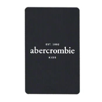 Buy Abercrombie Gift Card Online - abercrombiekids com