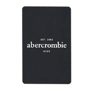 Buy Abercrombie Gift Card Online - abercrombiekids com