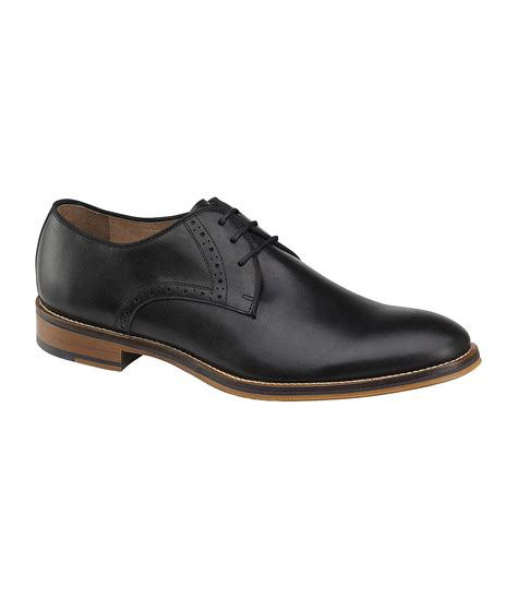 Dress Shoes Johnston Murphy by Johnston Murphy Conard Plain Toe Dress Shoes In Black For Lyst