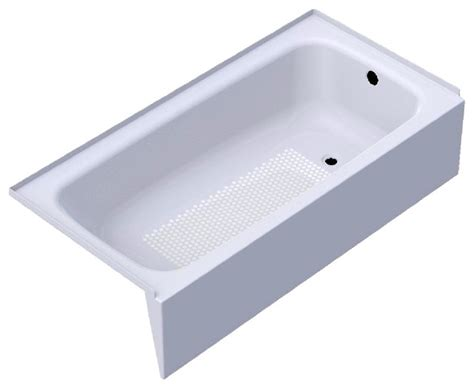 Kaldewei 155, Right Hand 60 X 30 Cayono Bathtub, White Bathtubs by The Distribution Point