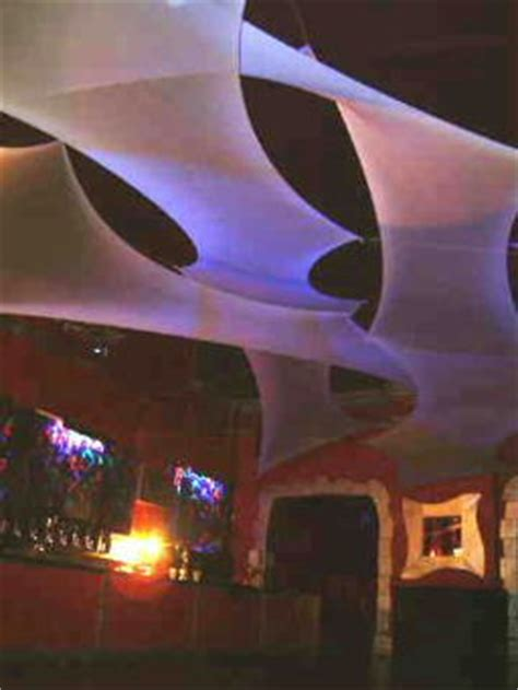 Stretch Fabric Ceiling by Stretch Fabric For Events