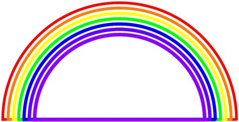 clipart arcobaleno rainbow background clipart clipartxtras