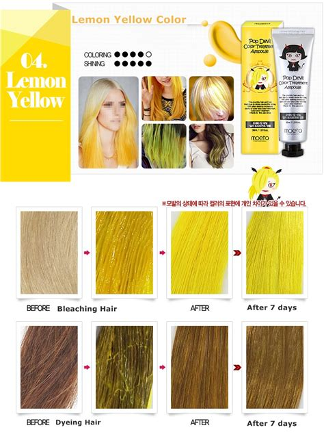 7 Ways To Care For Color Treated Hair by Moeta Pop Color Hair Dye Treatment Oule 30ml